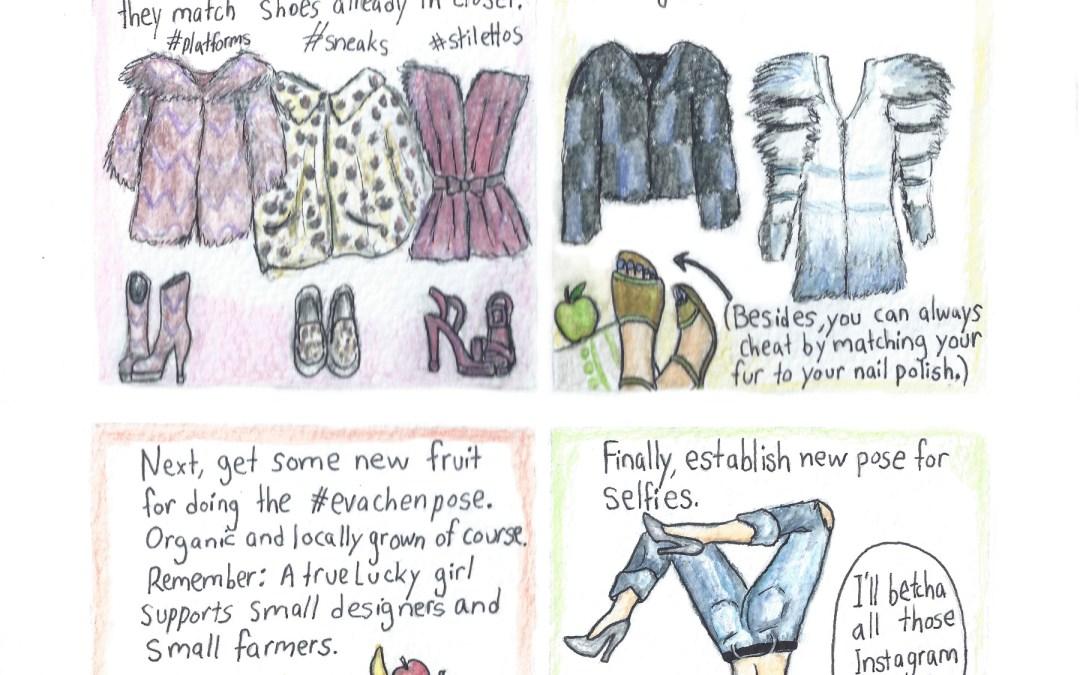 Comic: My predictions of Eva Chen's Fall Fashion Picks