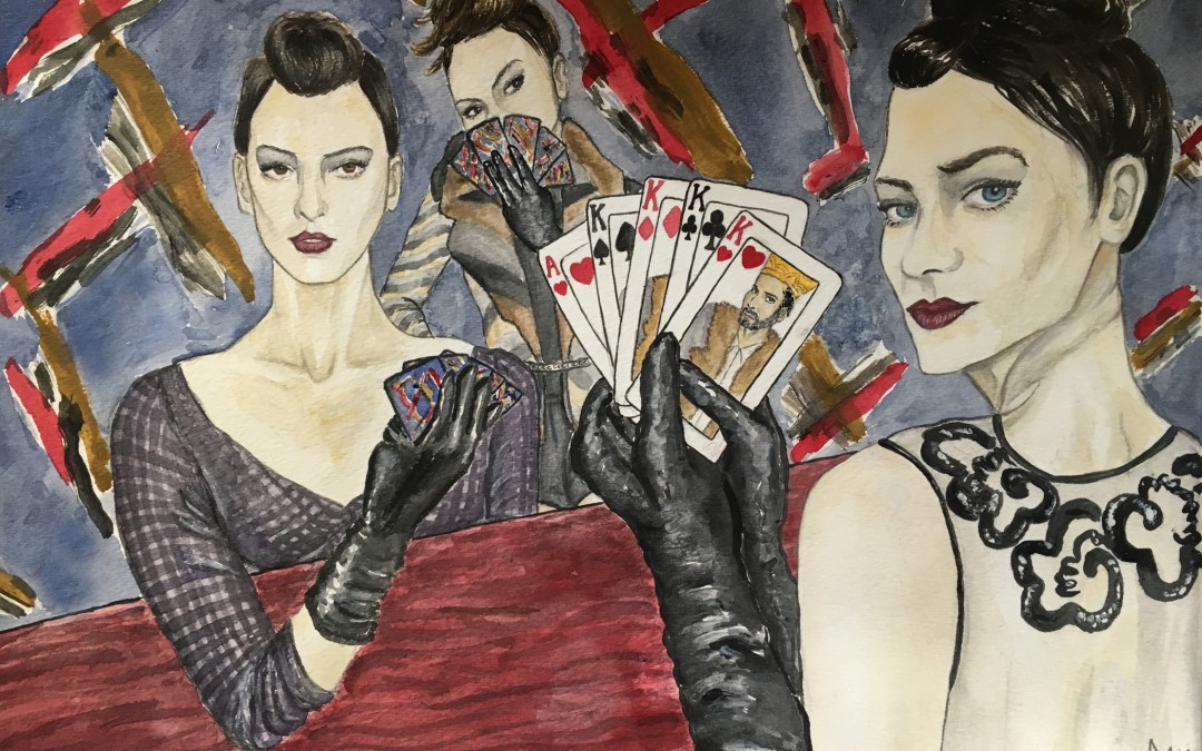 A Ladies' Poker Parlor, inspired by Marc Jacobs NYFW Fall 2015
