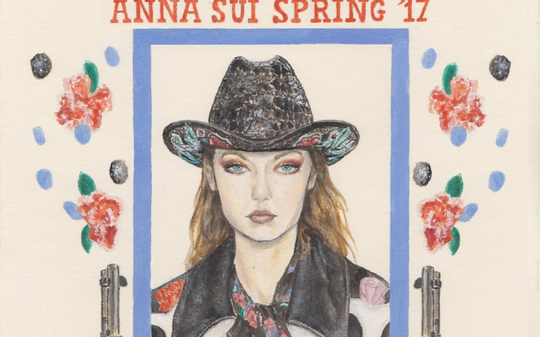 Wanted: Anna Sui Spring 2017
