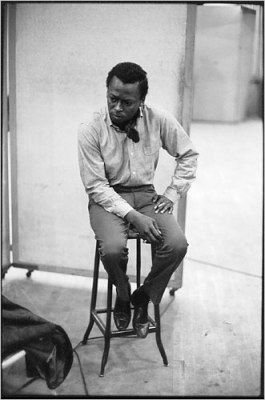Kind of Blue recording session in 1959