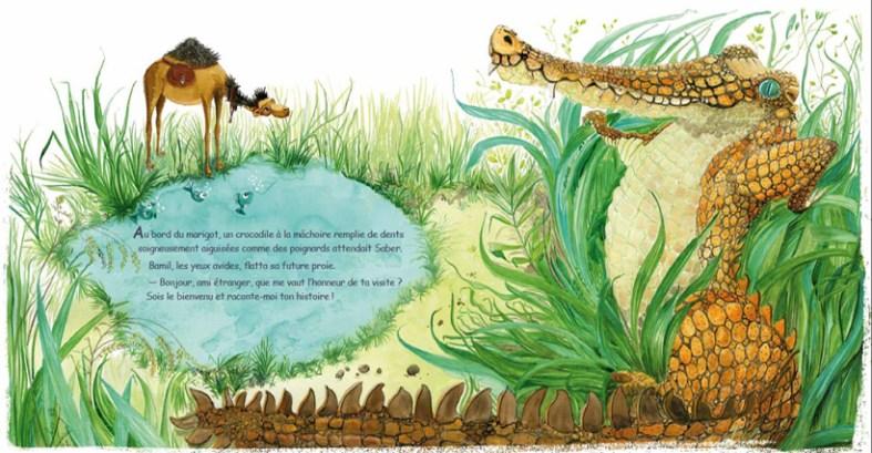 le dromadaire qui voulait voir la mer-sabine hautefeuille-hassen ayeche