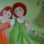 Lison et Lisette format 50x61