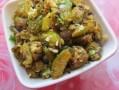 gherkins and cocont recipe/ dondakaya kobbari koora