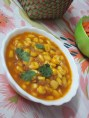 SWEET CORN CURRY serving bowl