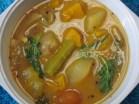 Pumpkin sambar/ gummadikaya sambar serving bowl