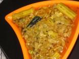 Beerakaya Mulakkaya Koora (Ridge gourd and Drum stick Recipe)