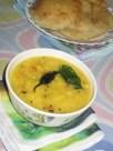 Pesara pappu Tomato Recipe for Puri