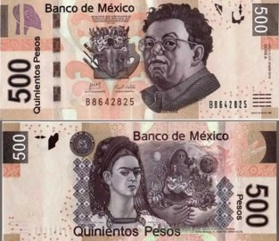 500 in mexican money