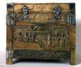 Die Capsella di Samagher mit der frühsten Darstellung der Petrusmemorie
