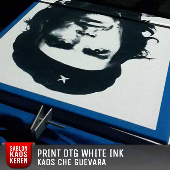 print kaos dtg white ink full block