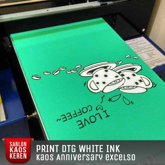 print poloshirt white ink