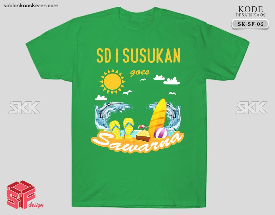 Desain Kaos Kelas SD