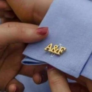 Customized Gold Plated Cufflinks