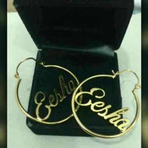 Customized Gold Plated Earings