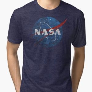 NASA Vintage Emblem T-Shirt Custom Printed