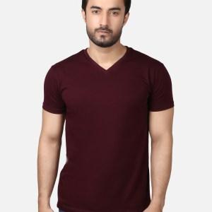 Basic V- Neck T-Shirt SB07