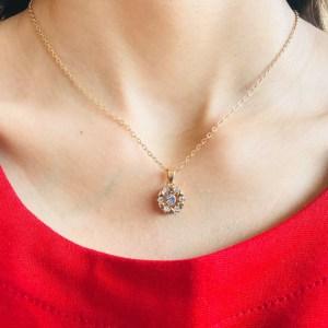 Casual Zircon Necklace SN15