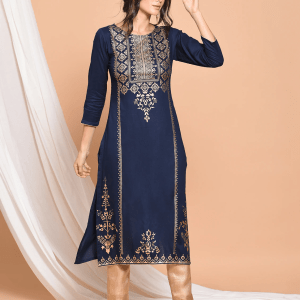 Unstitched 2 Piece Block Printed Cambric Suit SP10