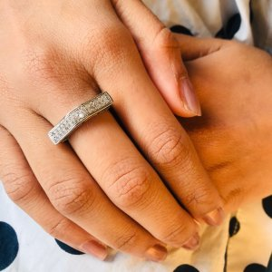 Zircon Finger Rings For Women SR18