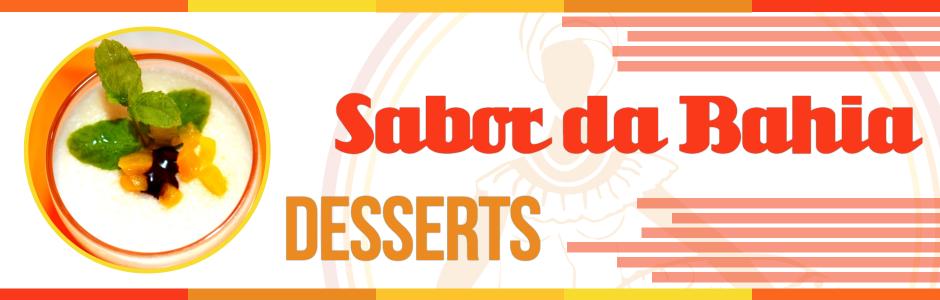 Sabor da Bahia Desserts