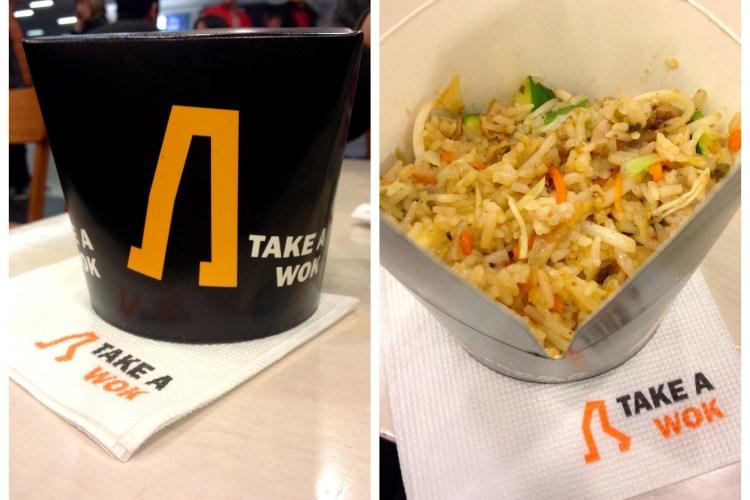 Take a Wok, Noodle Bar