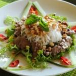Cocinando en Vietnam (Parte II): Ensalada de Beef Vermicelli (Bun Bo Nam Bo)