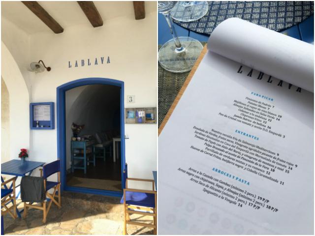 la-blava-menu
