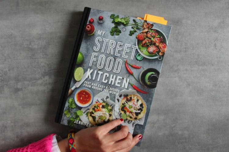 Libro: My Street Food Kitchen + Receta de Falafels al horno