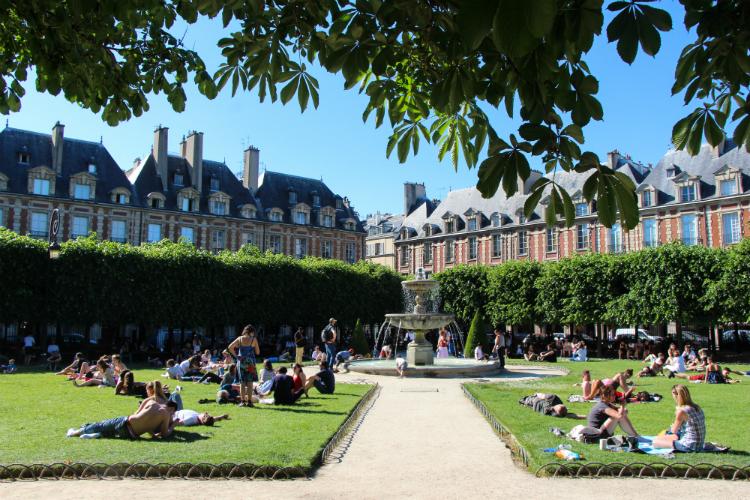 París, Francia, place des vosges
