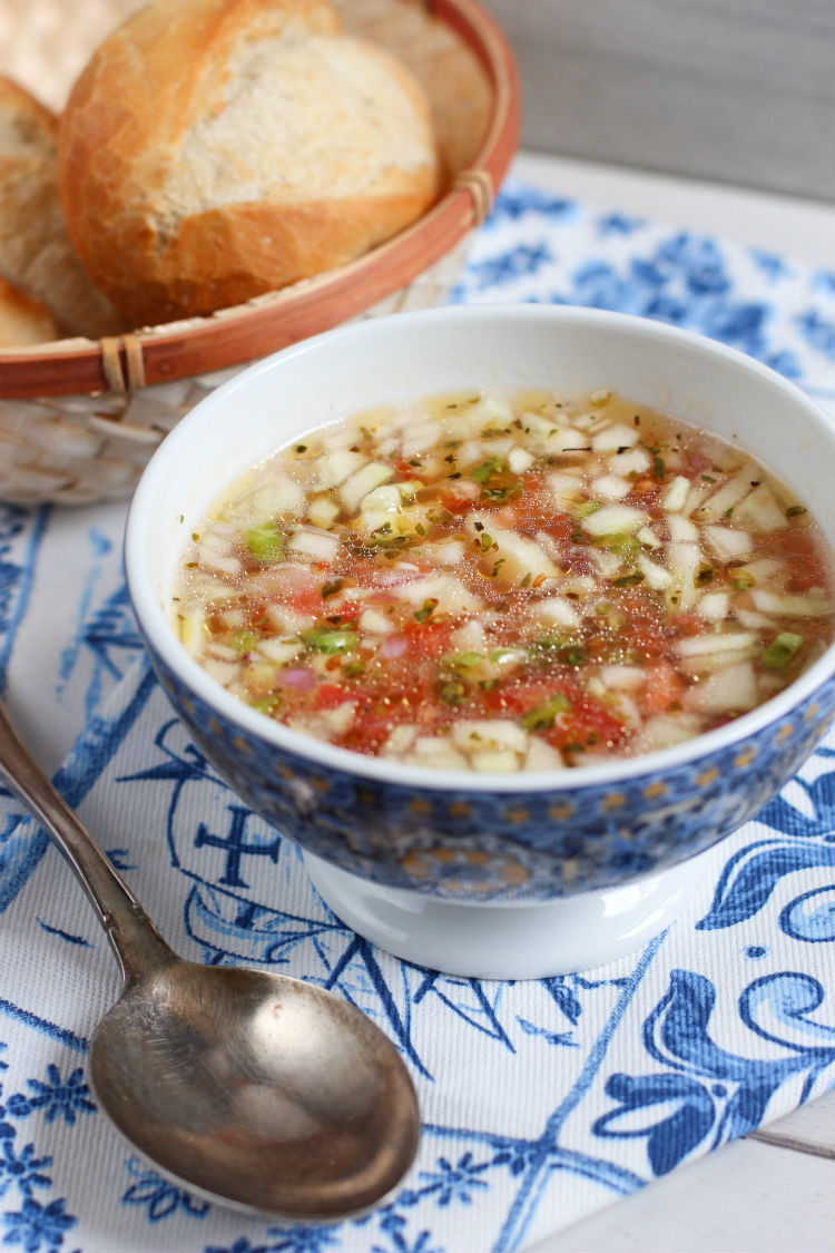 gazpacho portugues receta facil y original