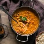 Curry de garbanzos atomatado