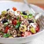 Ensalada de quinoa mediterranea