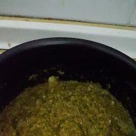 Mezcla de curry con leche de coco