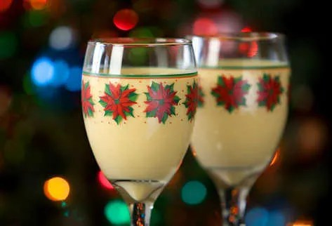 Resultado de imagen para bebida en navidad