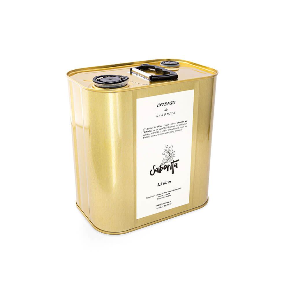 INTENSO de Saborita - 2,5 litres AOVE