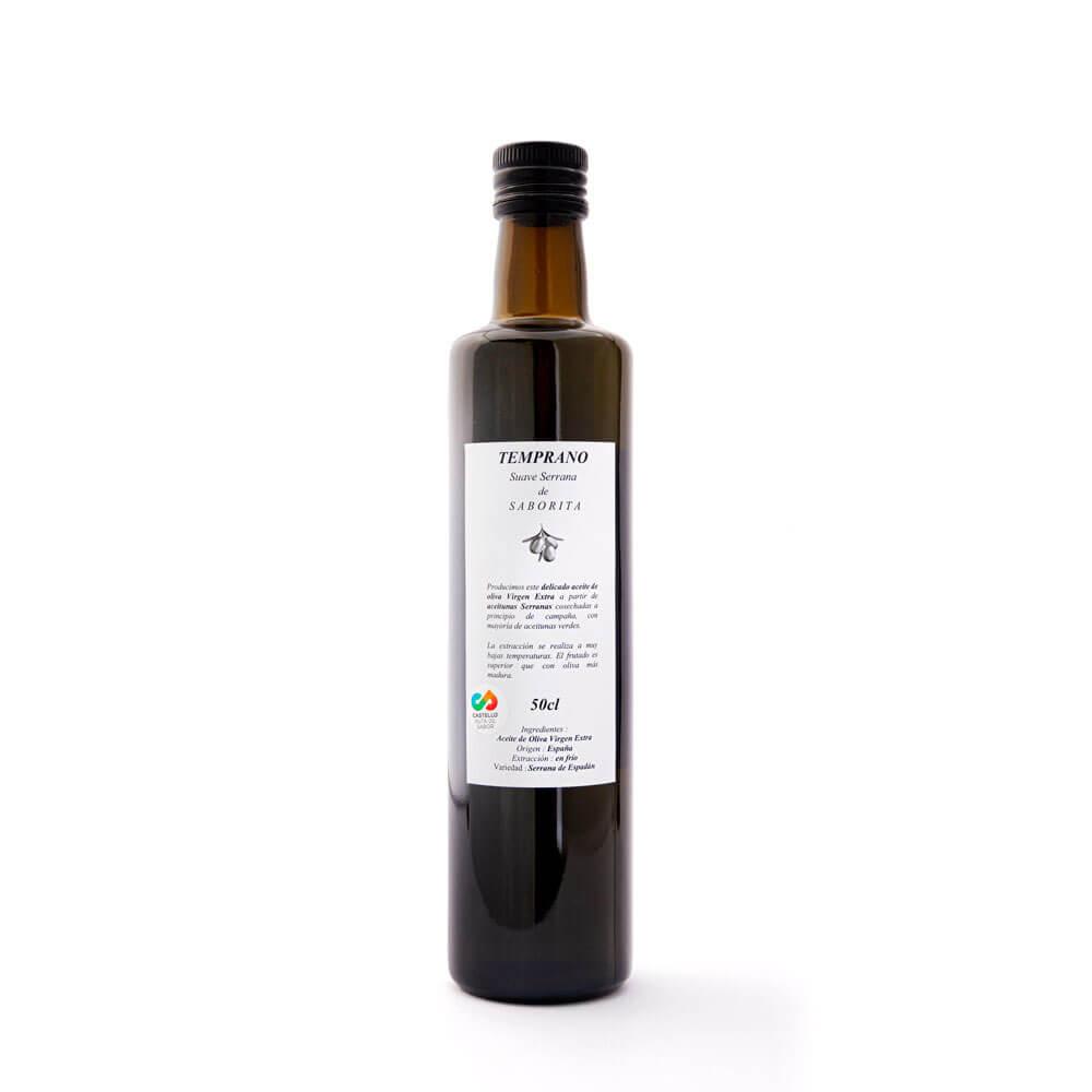 TEMPRANO de Saborita - 0,5 litres AOVE