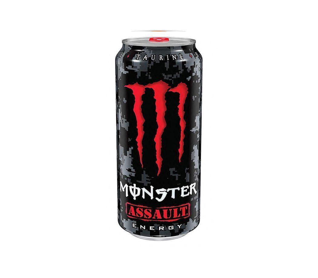 Bebida energizante Monster Assault