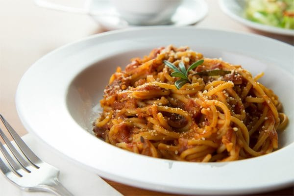 receta espagueti a la boloñesa