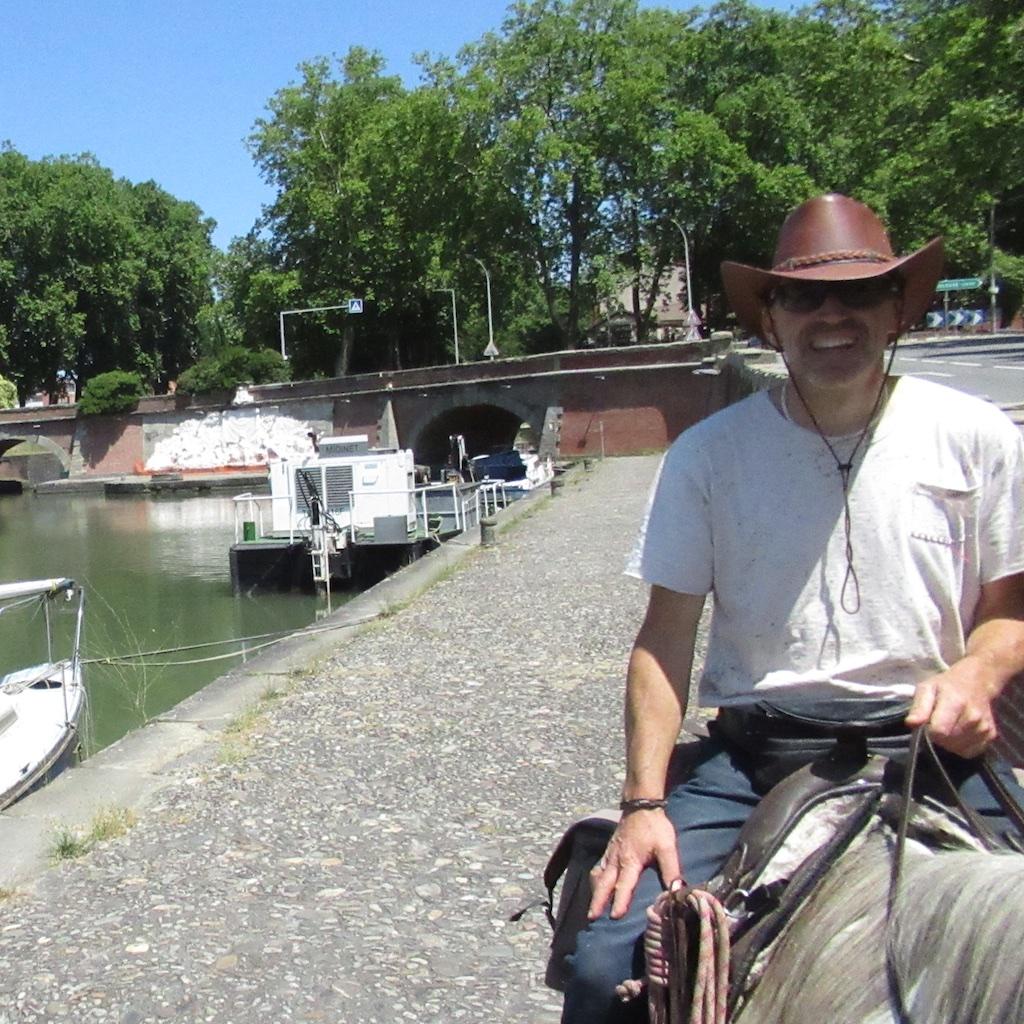 Tim et Fleur: au port de l'Embouchure à Toulouse