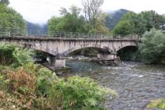 Le pont sur Garonne de l'ancienne voie ferrée Montréjeau-Luchon