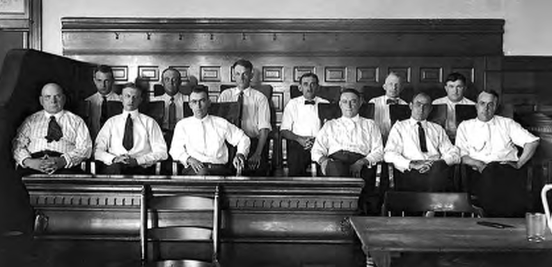 Image result for all black jury