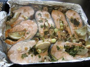 Salmon and artichokes 10/10 STCU