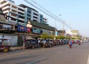 Vientiane Tuk-tuk rank