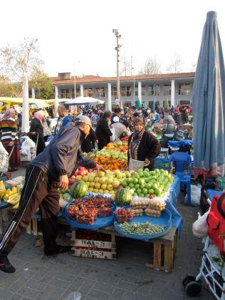 Saturday market, Selcuk