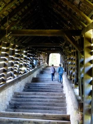 Covered walkway - Sighisoara