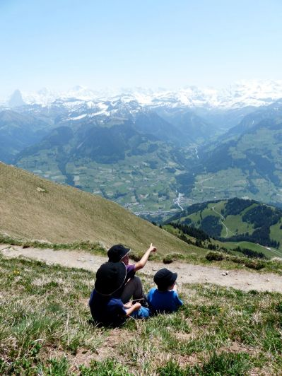 Niesen - the view from the top