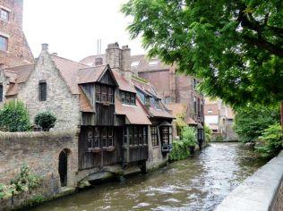 Bruges - canal scene