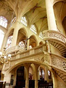 The carved splendour of the Eglise Saint Etienne-du-Mont