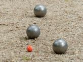 Petanque in the Jardin