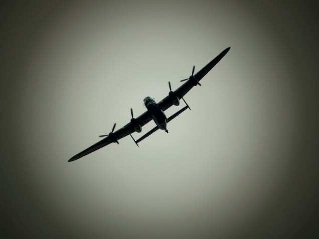 BBMF Lancaster - Ghost of the past